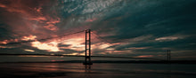 Load image into Gallery viewer, Sunset over the Humber Bridge