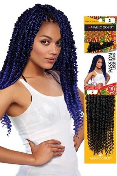 Magic Gold Passion Loc Braid 18""