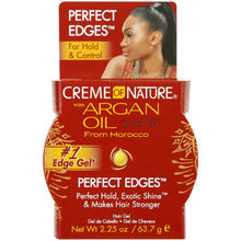 Load image into Gallery viewer, CREAM of NATURE Argan Oil Perfect Edges