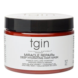 TGIN MIRACLE REPAIRX Deep Hydrating Hair Mask - 12oz