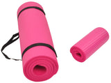 BalanceFrom GoYoga+ All-Purpose 1/2-Inch Extra Thick Anti-Tear Exercise Yoga Mat and Knee Pad