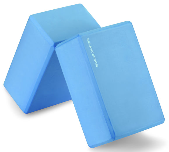 BalanceFrom GoYoga Set of 2 High Density Yoga Blocks