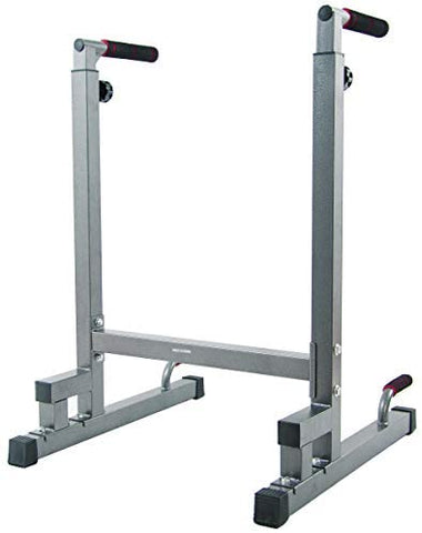 BalanceFrom Multi-Function Dip Stand Dip Station Dip bar, 500-Pound Capacity