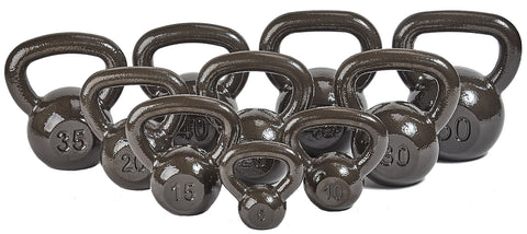 BalanceFrom Cast Iron Kettlebell, Single
