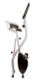 BalanceFrom X1 Folding Magnetic Upright Exercise Bike with Pulse Sensors and LCD Display