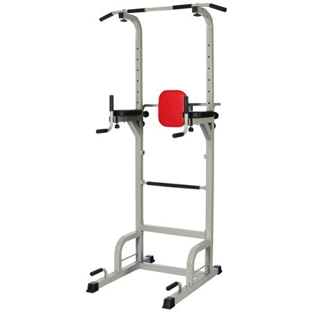BalanceFrom Power Tower with Push-up, Pull-up and Workout Dip Station for Home Gym Strength Training