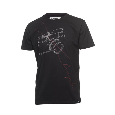 black- T-Shirt STITCHCAM