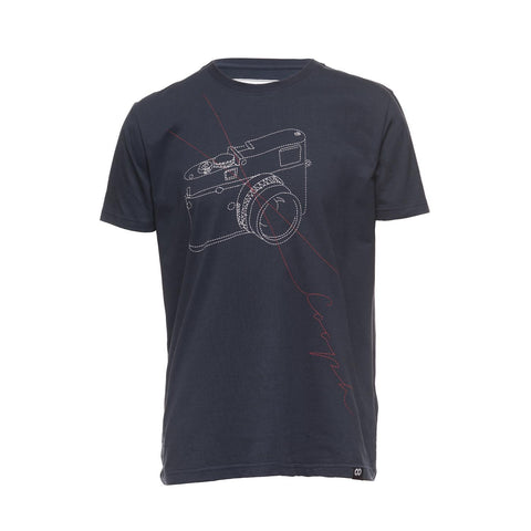 blue- T-Shirt STITCHCAM