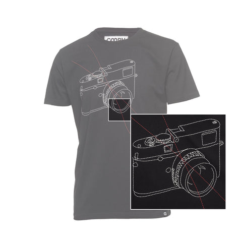 features - T-Shirt STITCHCAM - Black - COOPH store