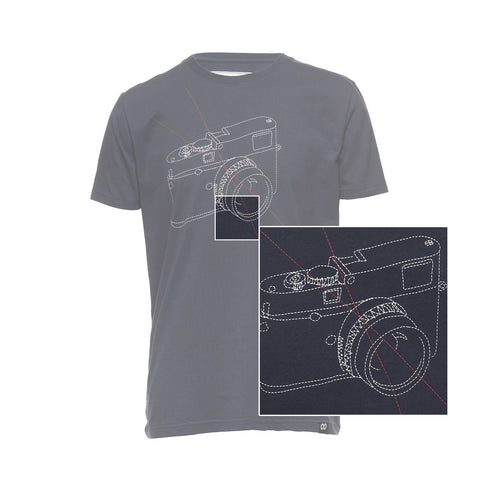 features - T-Shirt STITCHCAM - Blue - COOPH store