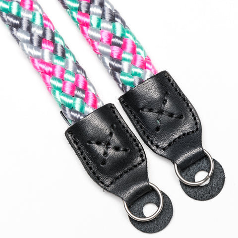 icemintpink - Braid Camera Strap - COOPH Cooperative of Photography GmbH