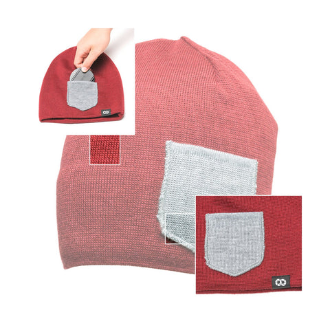 tibetanredheathergray - Beanie Winter