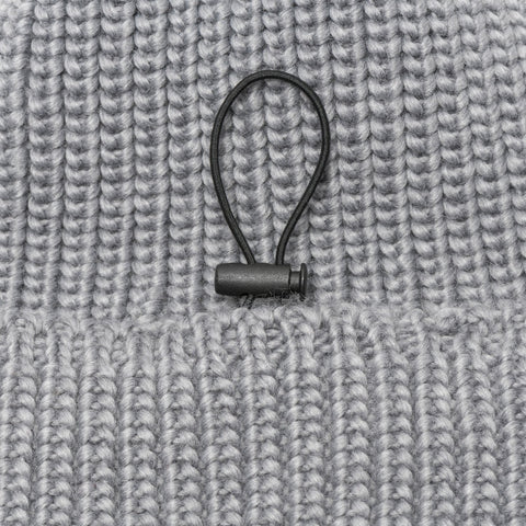heathergray - Pouch Beanie KNIT (short) - COOPH Cooperative of Photography GmbH