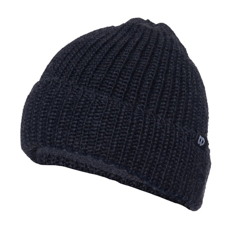 darkgray- Pouch Beanie KNIT (short)