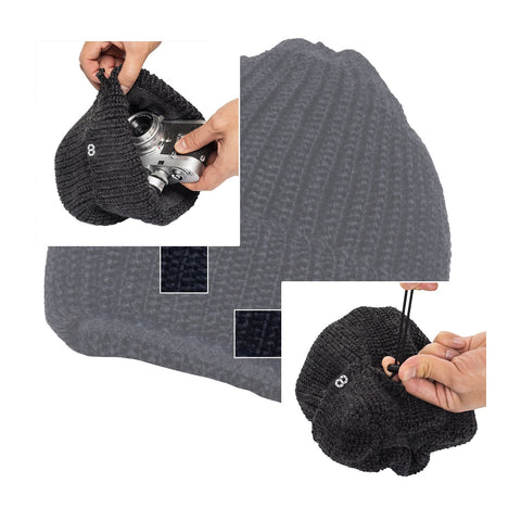darkgray - Pouch Beanie KNIT (short)