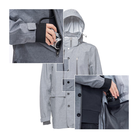 features - Rain Jacket ORIGINAL - COOPH store