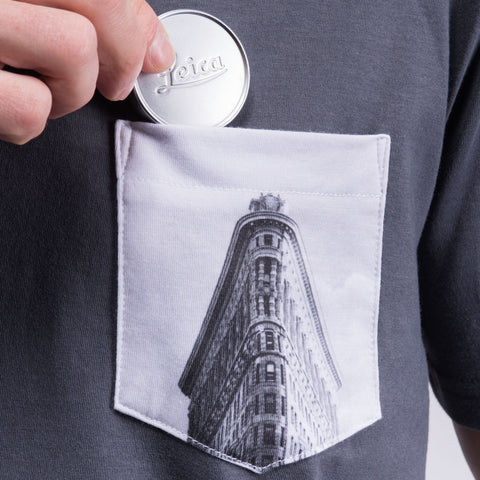pocket for lens cap - T-Shirt ARCHITECTURE - COOPH store