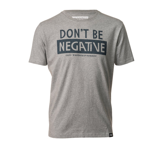 heathergray- T-Shirt DON'T BE