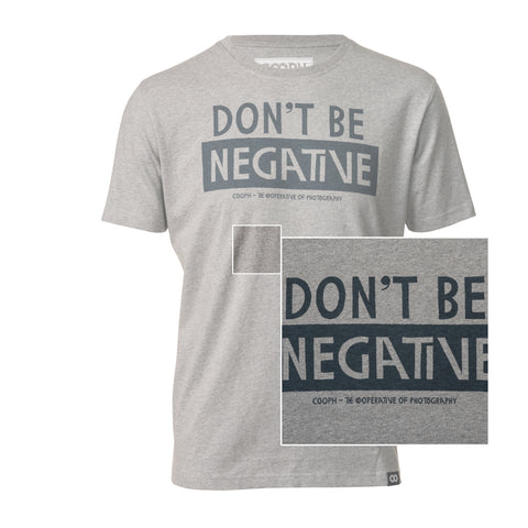 heathergray - T-Shirt DON'T BE