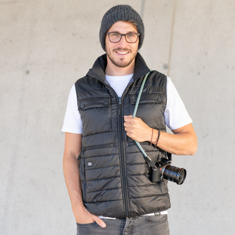 COOPH Heatable Photo Vest Black - Heatable Photo Vest Black