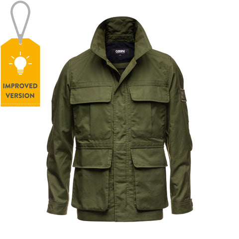 Field Jacket ORIGINAL - Olive - Field Jacket ORIGINAL - Olive - COOPH store