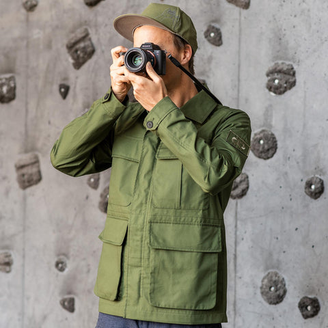 olive - Field Jacket ORIGINAL - COOPH Cooperative of Photography GmbH