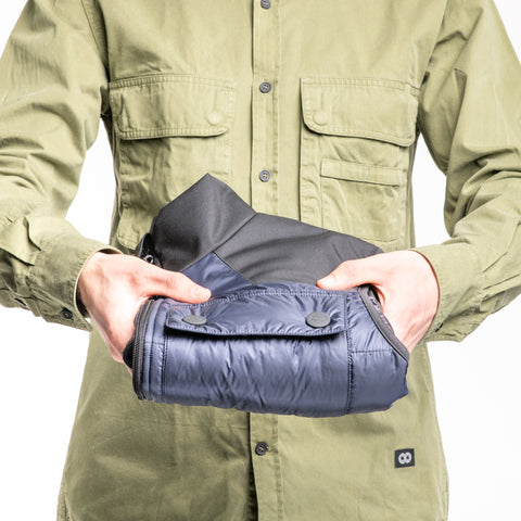 Heatable Photo Vest Navy with THERM-IC Bundle - Heatable Photo Vest Navy THERM-IC Bundle - COOPH store