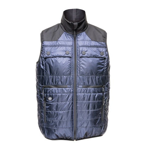 Heatable Photo Vest Navy- Heatable Photo Vest Navy