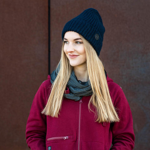navy - Beanie COMFY L-CAP - COOPH Cooperative of Photography GmbH