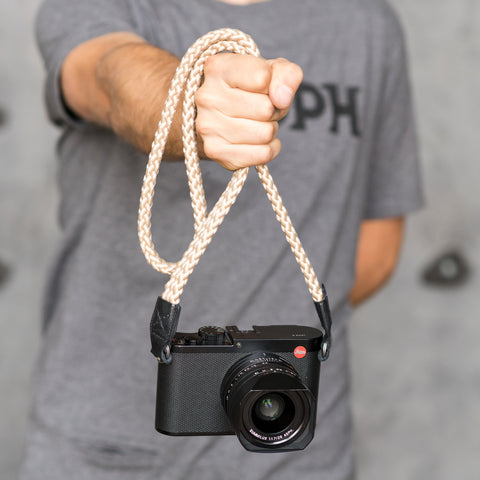 beige - Braid Camera Strap - COOPH Cooperative of Photography GmbH