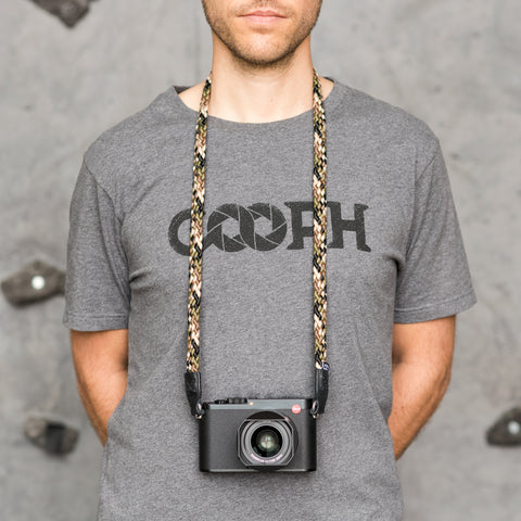 camouflage - Braid Camera Strap - COOPH Cooperative of Photography GmbH