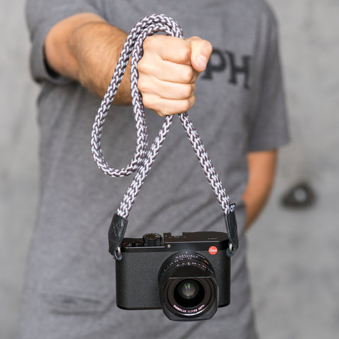 charcoal - Braid Camera Strap - COOPH Cooperative of Photography GmbH