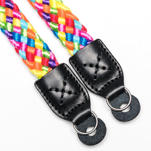 rainbow - Braid Camera Strap - COOPH Cooperative of Photography GmbH