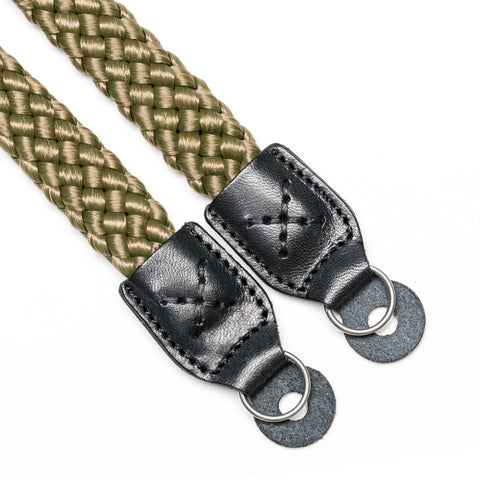 militarygreen - Braid Camera Strap - COOPH Cooperative of Photography GmbH