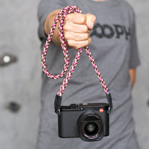 cherrychocolate - Braid Camera Strap - COOPH Cooperative of Photography GmbH