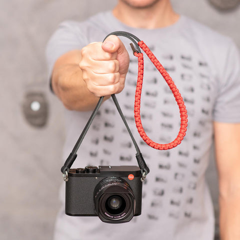 redblack - Leica Paracord Strap - COOPH Cooperative of Photography GmbH