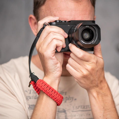 redblack - Leica Paracord Hand Strap - COOPH Cooperative of Photography GmbH