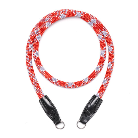 Leica Rope Strap - Red check- Leica Rope Strap - Red check