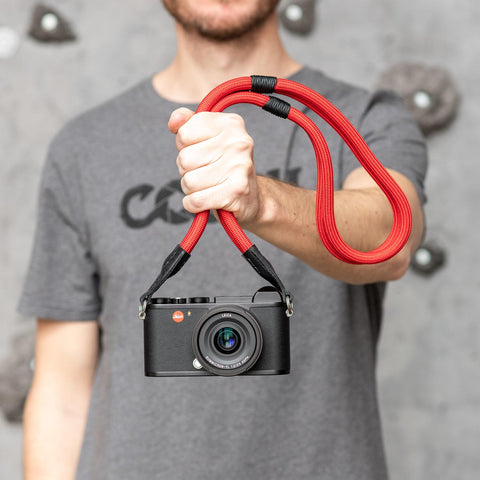 red - Leica Double Rope Strap - COOPH Cooperative of Photography GmbH