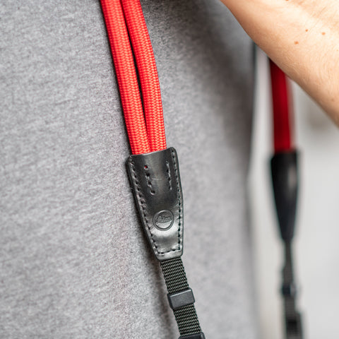 red - Leica Double Rope Strap SO - COOPH Cooperative of Photography GmbH