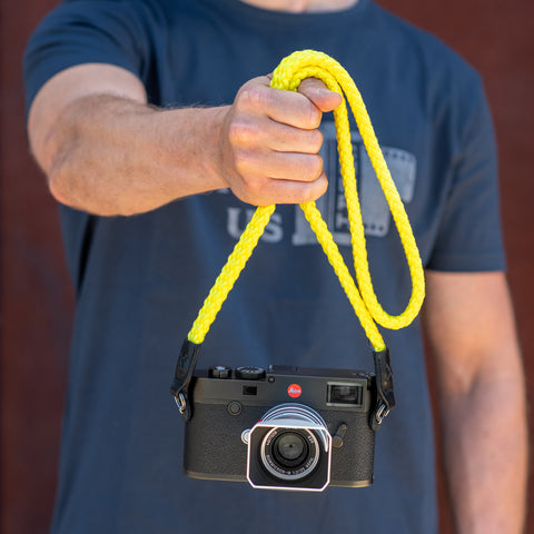 neonyellow - Braid Camera Strap - COOPH Cooperative of Photography GmbH