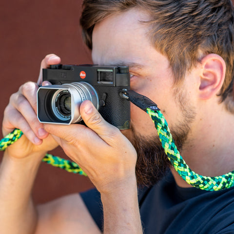 gecko - Braid Camera Strap - COOPH Cooperative of Photography GmbH