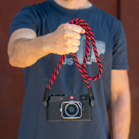 redblack - Braid Camera Strap - COOPH Cooperative of Photography GmbH