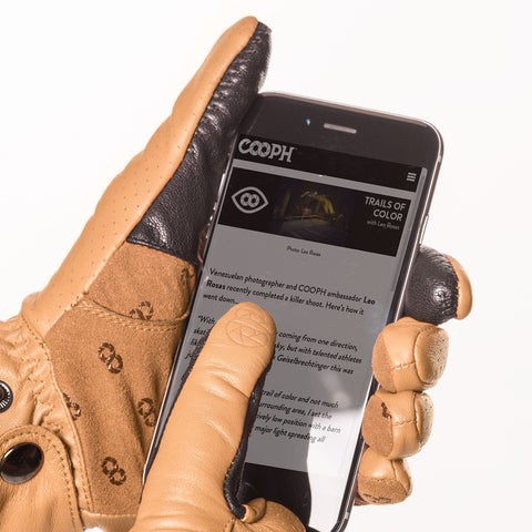full touch screen control - Photo Glove ORIGINAL - COOPH store