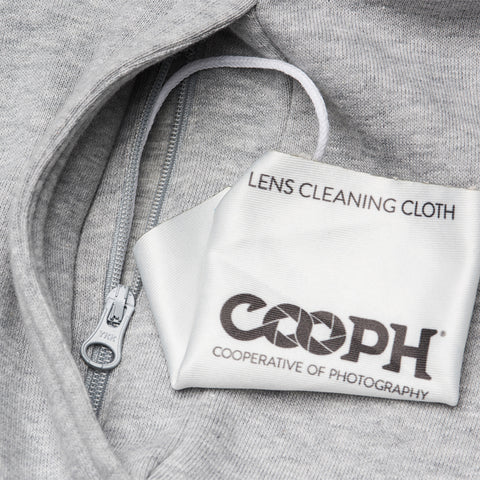 lens cleaning cloth - Hoodie ORIGINAL RAGLAN - COOPH store