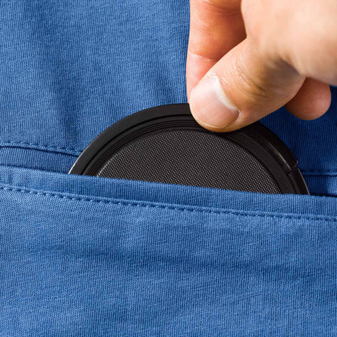 pocket for lens cap - T-Shirt ROCKTOGRAPHER - COOPH store
