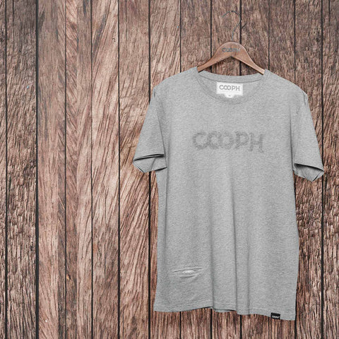 lightgray - T-Shirt OBJECTIFYER - COOPH Cooperative of Photography GmbH