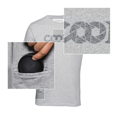 features - T-Shirt OBJECTIFYER - Light Gray - COOPH store