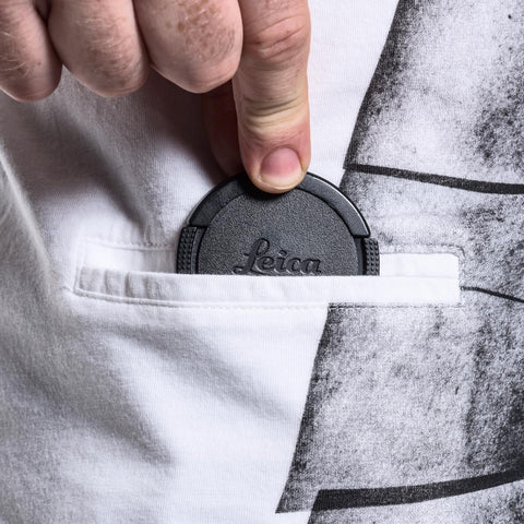 pocket for lens cap - T-Shirt SNAPOGRAPHER White - COOPH store