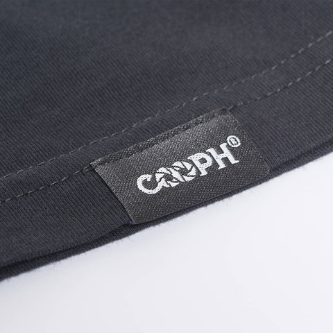 stitched-on COOPH label - T-Shirt SKELETOGRAPHER - COOPH store